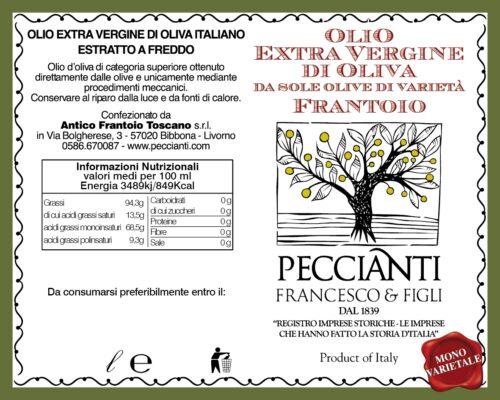 Etichetta Olio Monovarietale Aprile 2020 02