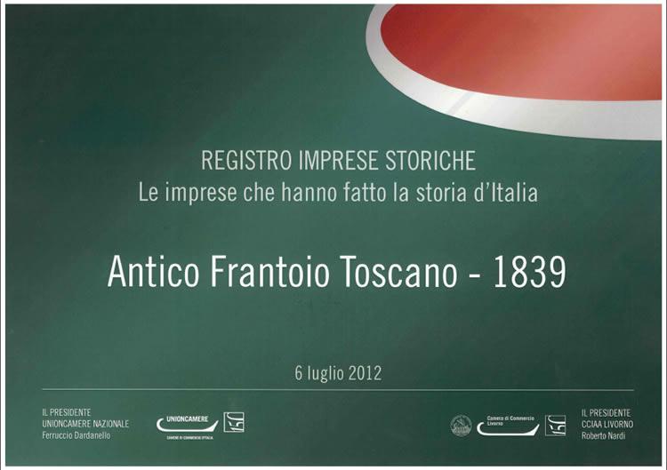 Antico Frantoio Toscano, le imprese che hanno fatto la storia d'Italia.