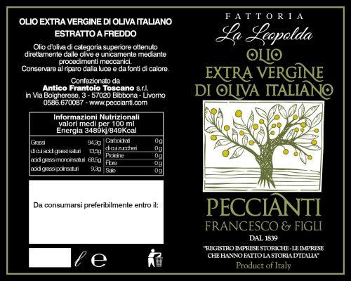 Etichetta Fattoria La Leopolda 01