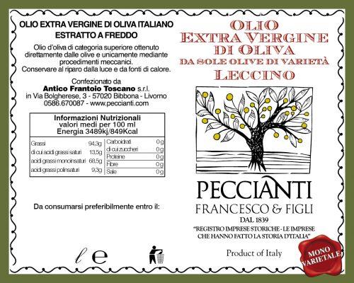 Etichetta Olio Monovarietale Aprile 2020 01