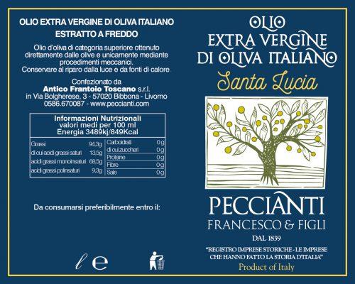 Etichetta Santa Lucia 01